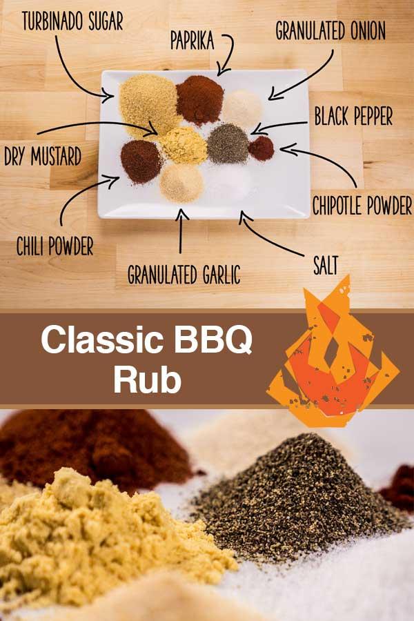 Classic BBQ Rub Pinterest